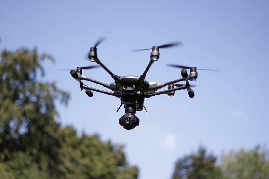 Najlepsze drony z kamerą